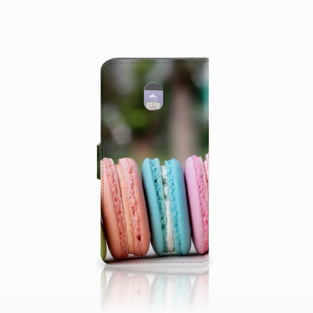 Samsung Galaxy J7 (2018) Book Cover Macarons