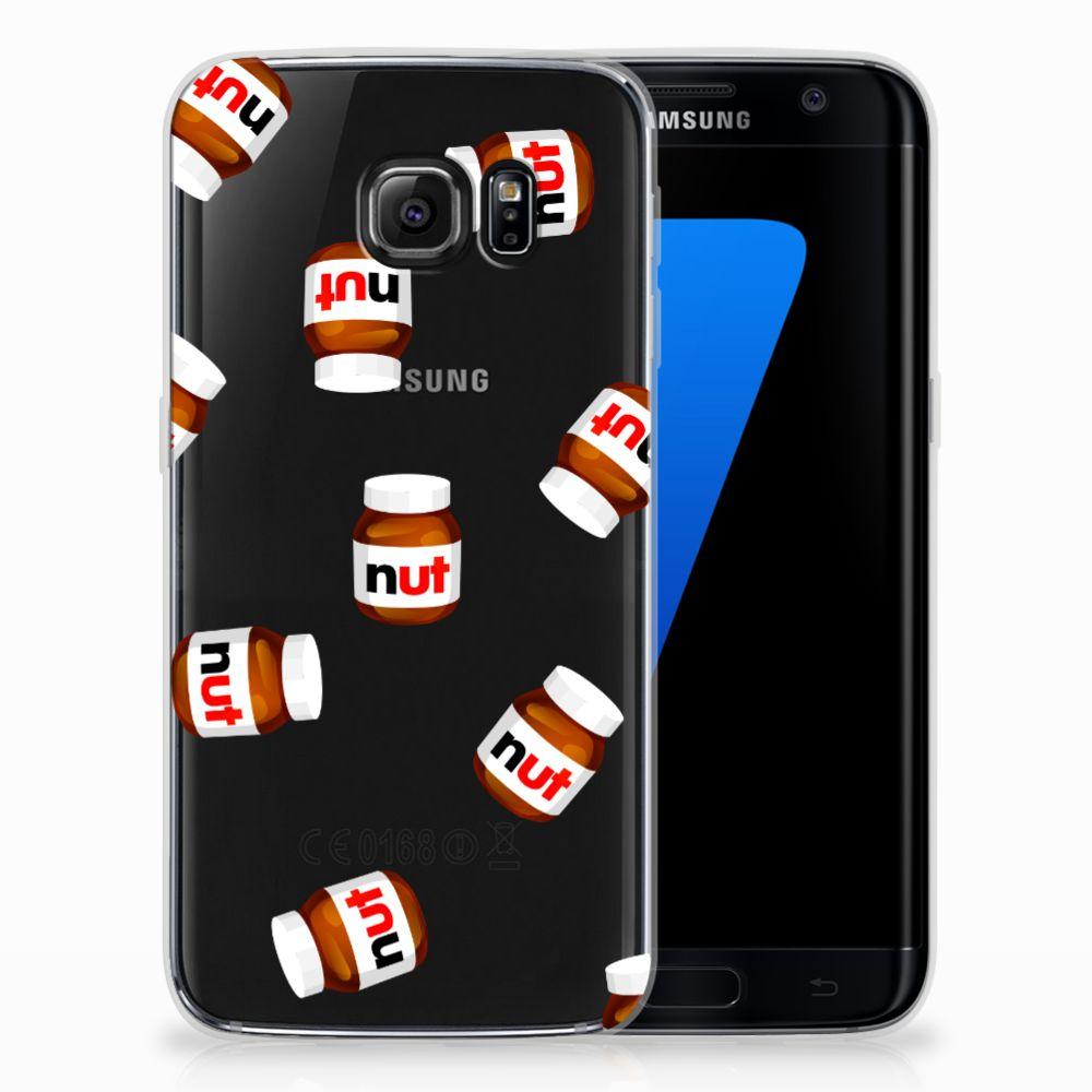 Samsung Galaxy S7 Edge Siliconen Case Nut Jar