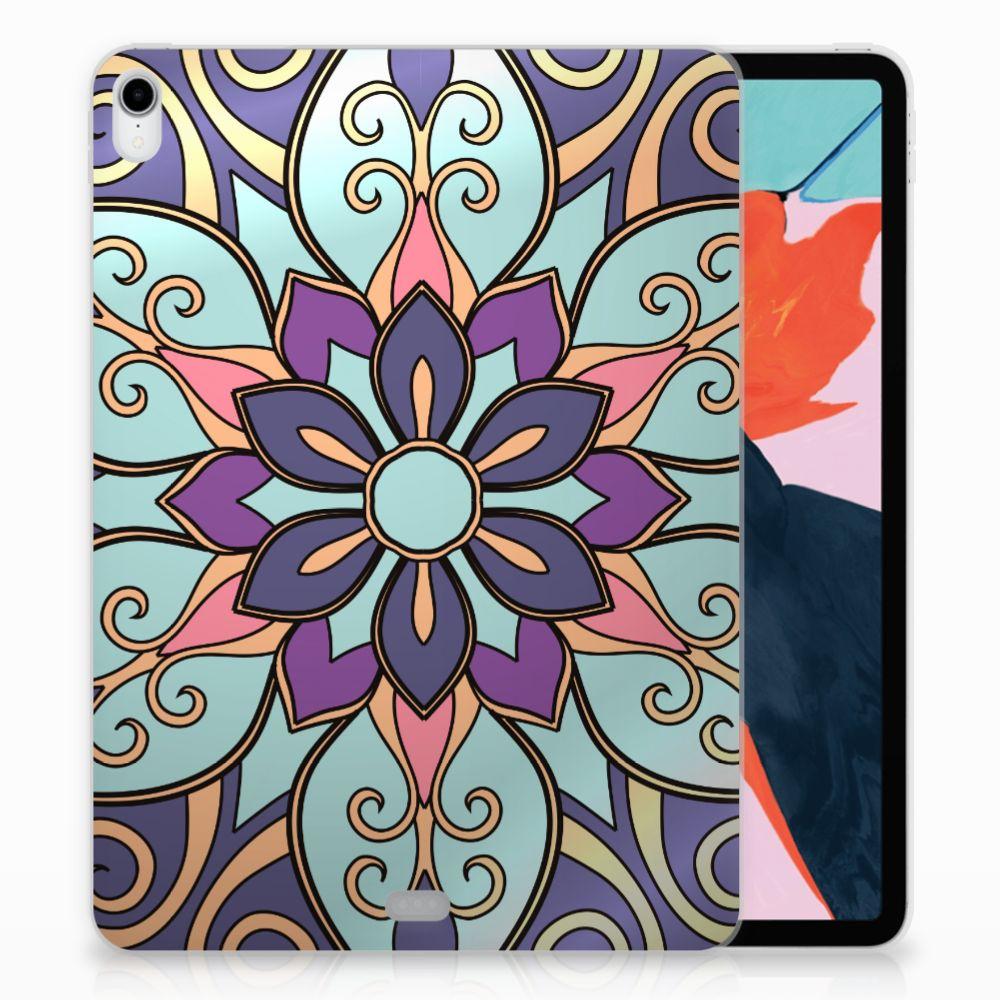Apple iPad Pro 11 inch (2018) TPU Hoesje Design Purple Flower