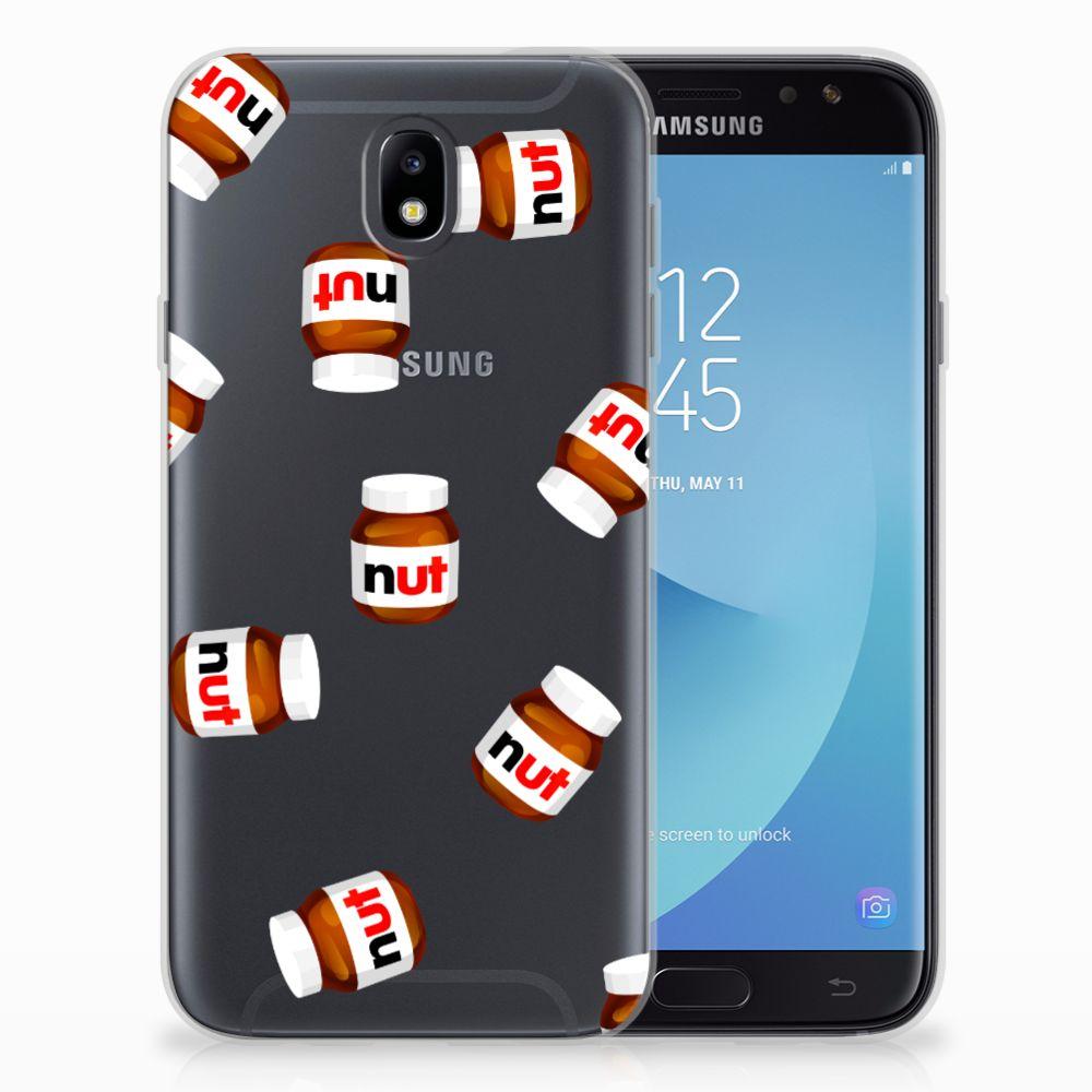 Samsung Galaxy J7 2017 | J7 Pro Siliconen Case Nut Jar