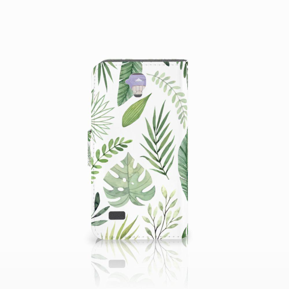 Huawei Y5 Y560 Hoesje Leaves