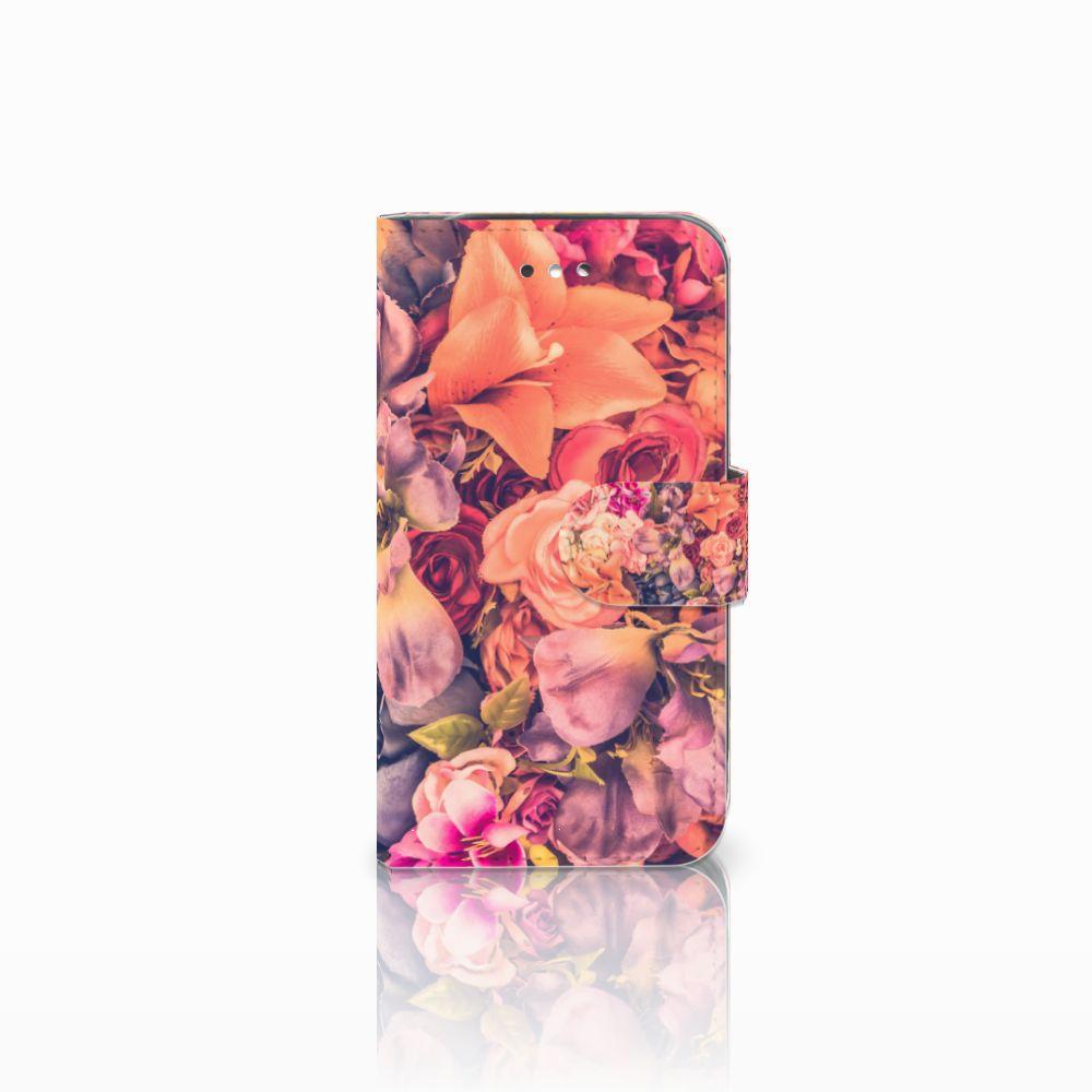 Samsung Galaxy S4 Boekhoesje Design Bosje Bloemen