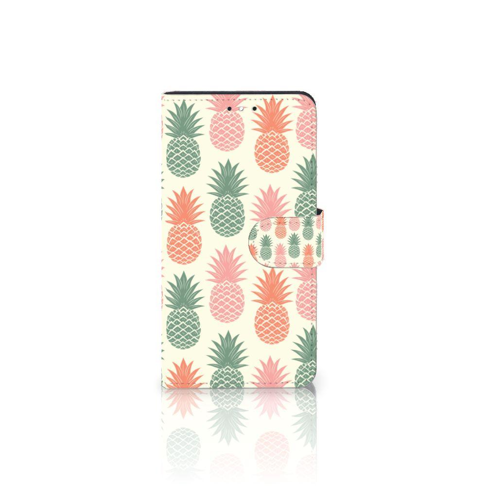 Motorola Moto G5S Plus Boekhoesje Design Ananas