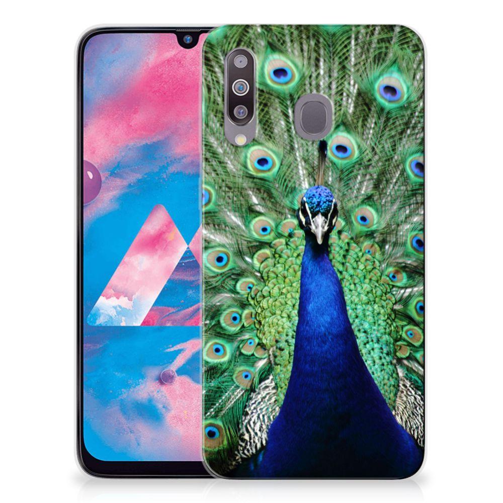 Samsung Galaxy M30 TPU Hoesje Pauw