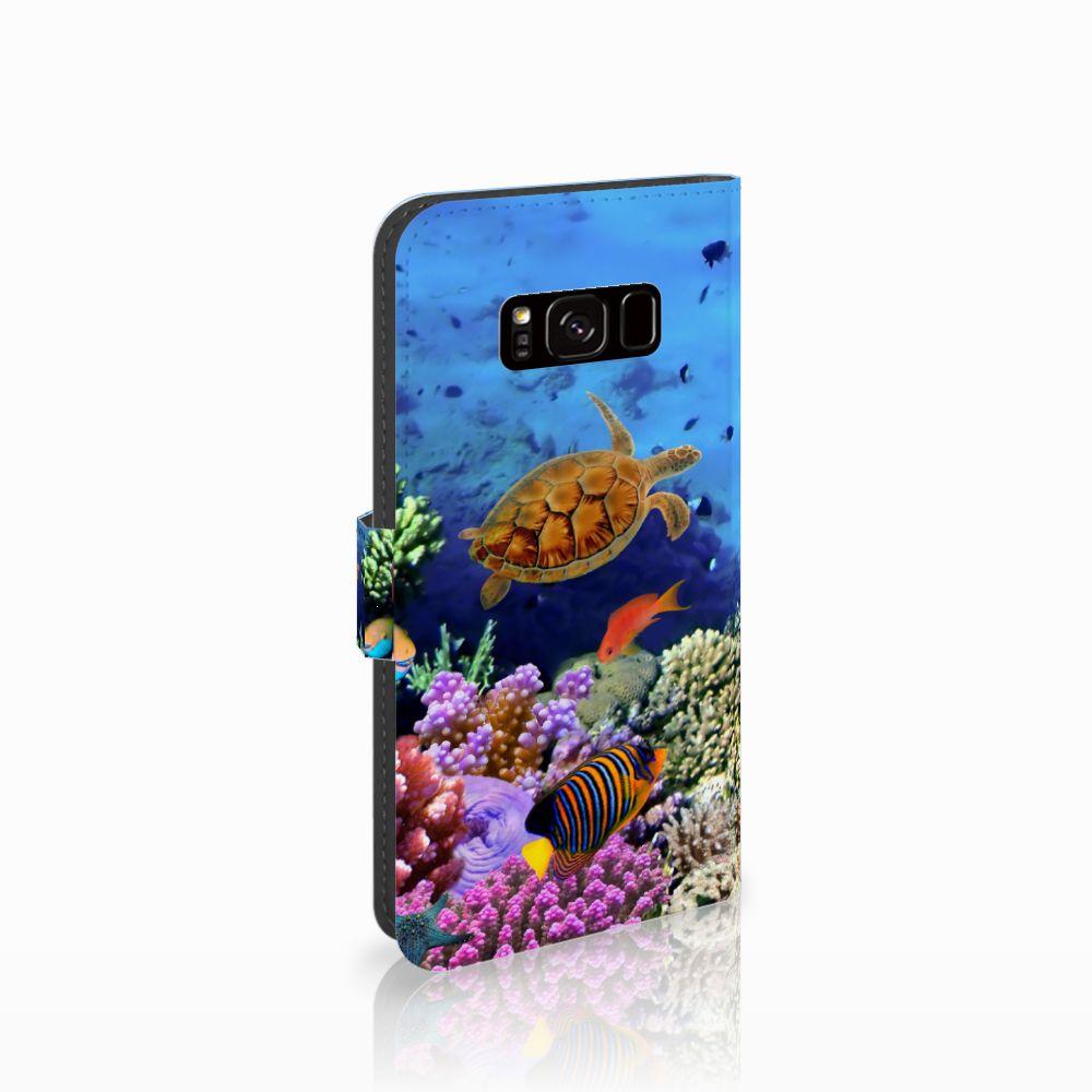 Samsung Galaxy S8 Boekhoesje Design Vissen