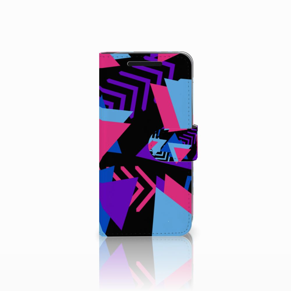 HTC One M9 Bookcase Funky Triangle