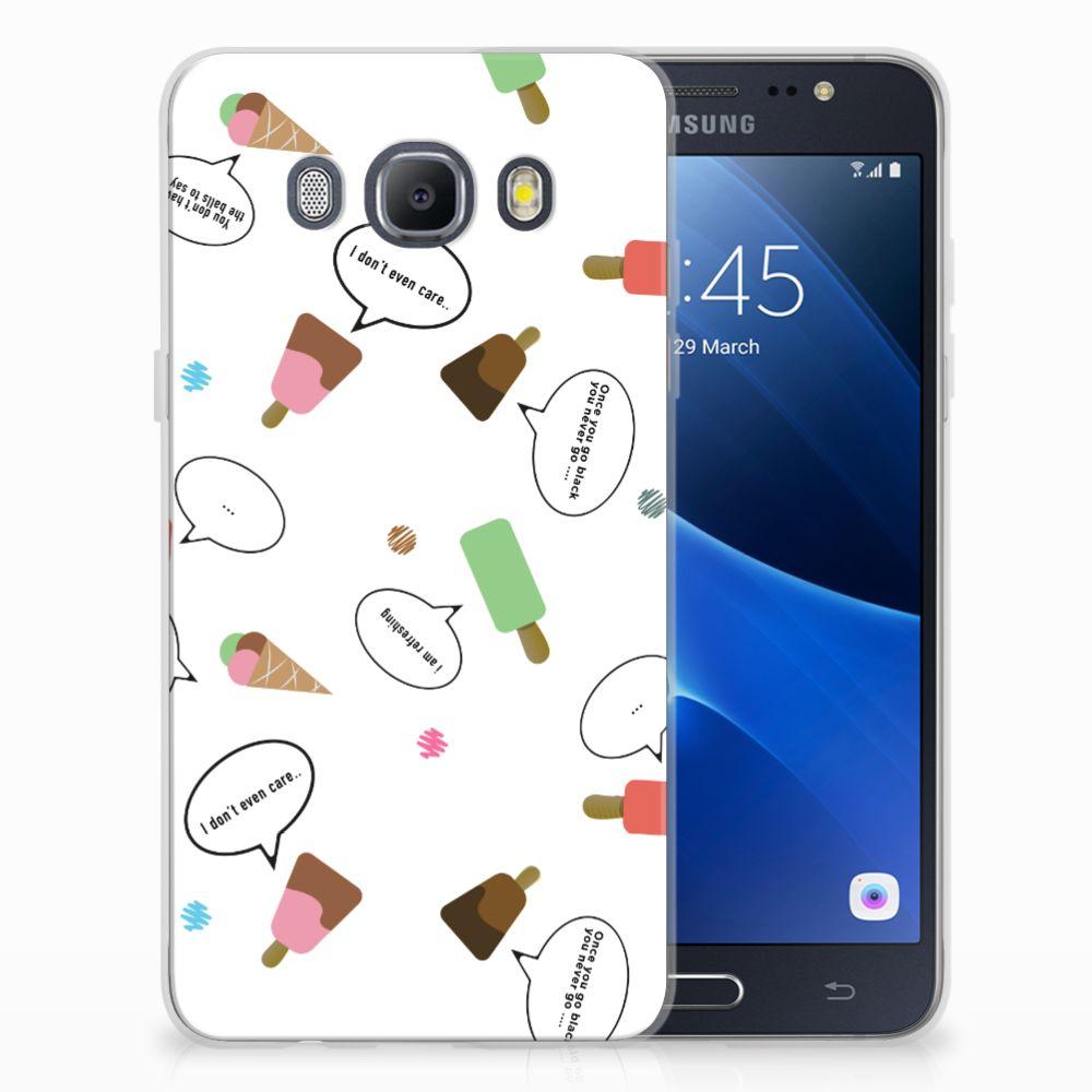Samsung Galaxy J5 2016 Siliconen Case IJsjes