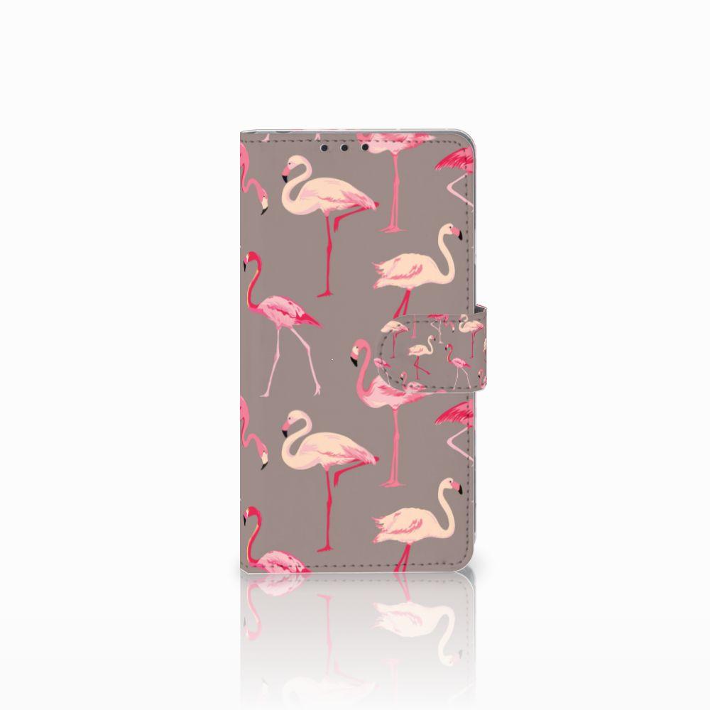Sony Xperia Z1 Uniek Boekhoesje Flamingo