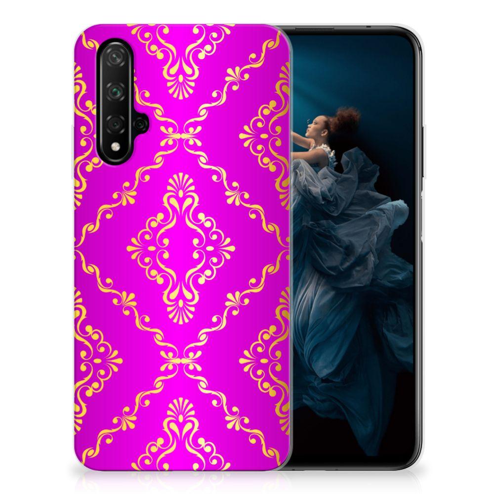Siliconen Hoesje Honor 20 Barok Roze