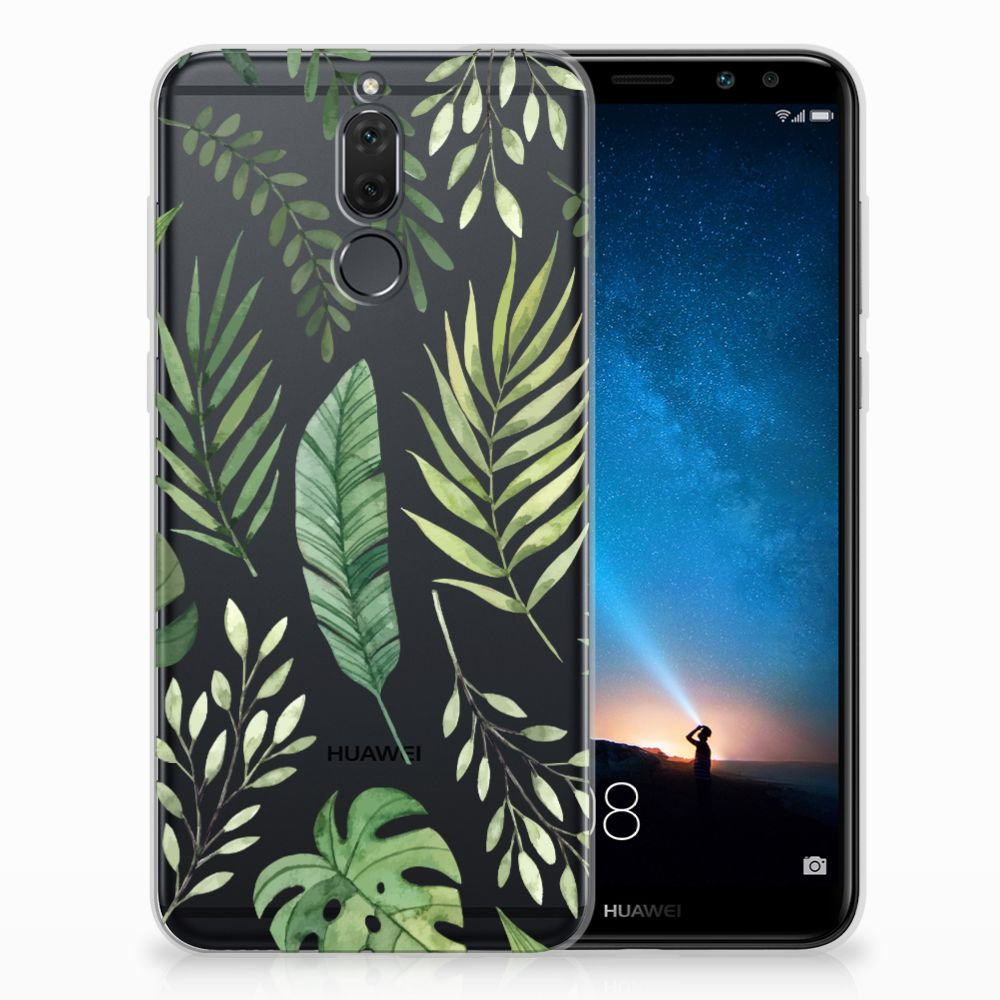 Huawei Mate 10 Lite TPU Case Leaves