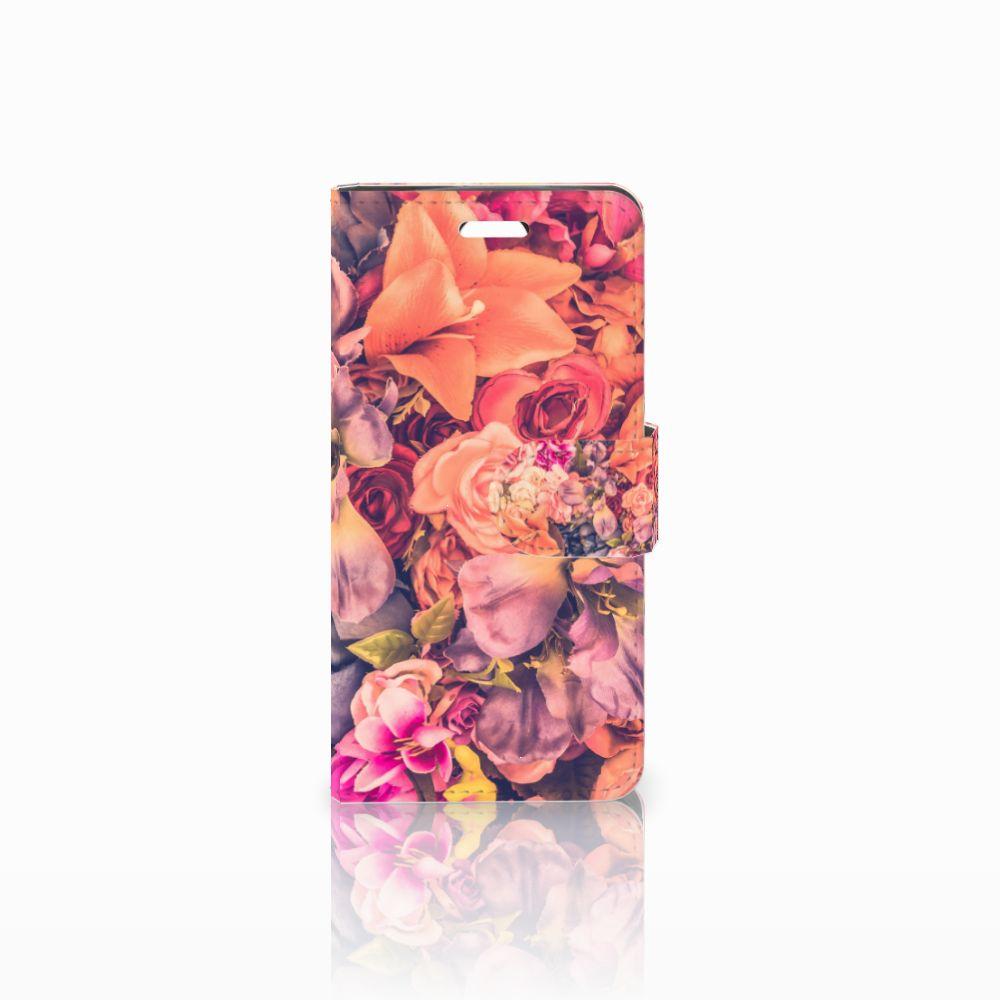 Acer Liquid Z330 Boekhoesje Design Bosje Bloemen