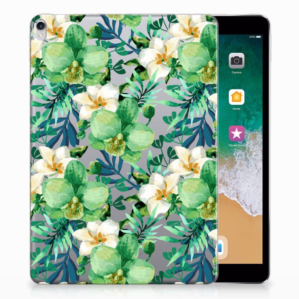 Apple iPad Pro 10.5 Uniek Tablethoesje Orchidee Groen