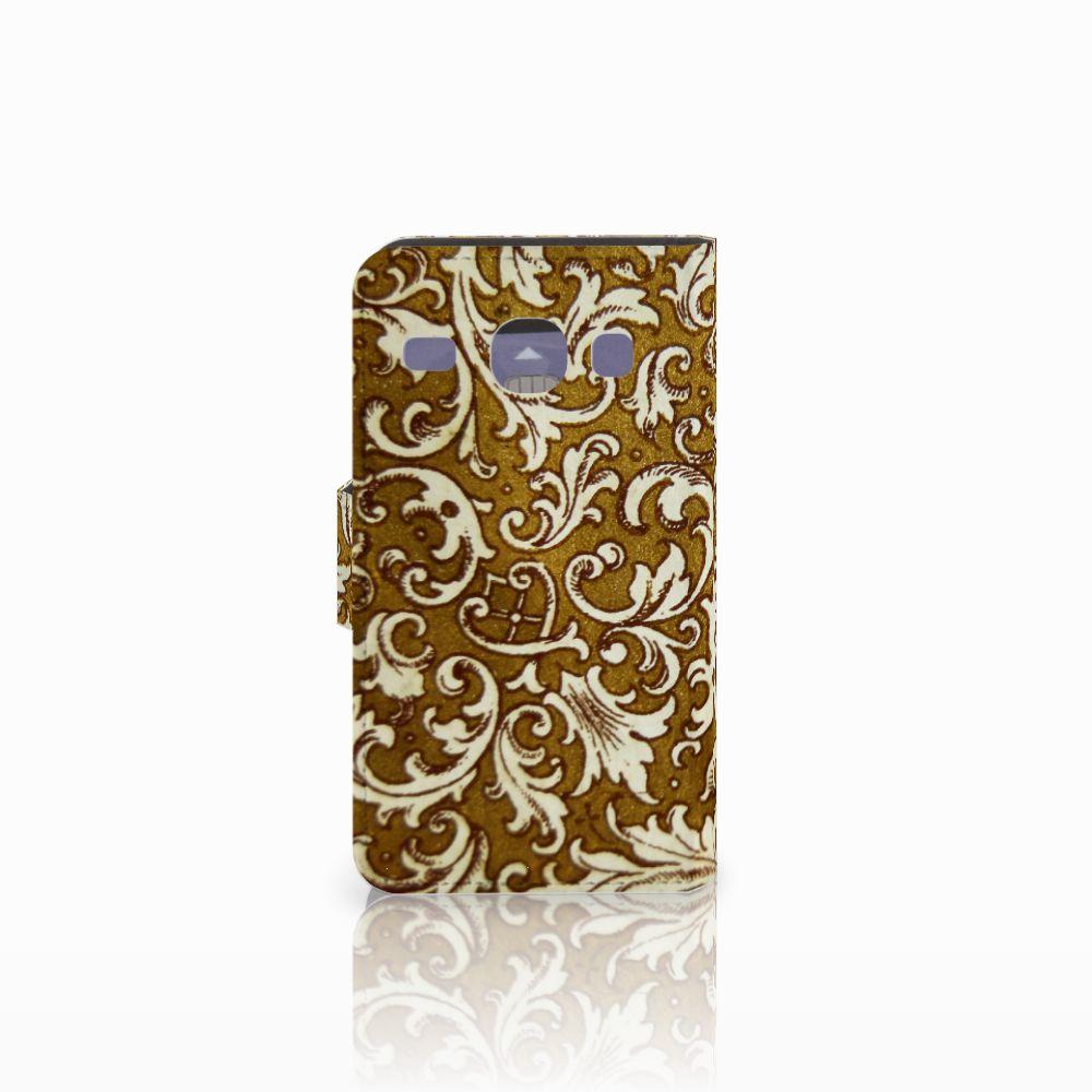 Wallet Case Samsung Galaxy Core i8260 Barok Goud