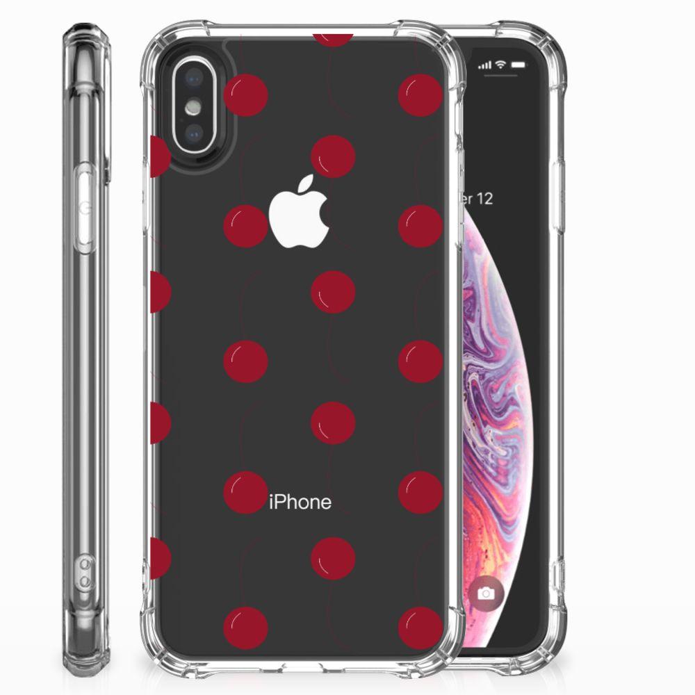 Apple iPhone X | Xs Beschermhoes Cherries