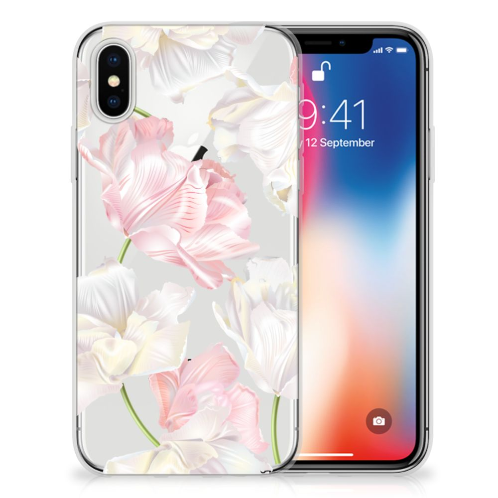 Apple iPhone X | Xs TPU Case Lovely Flowers