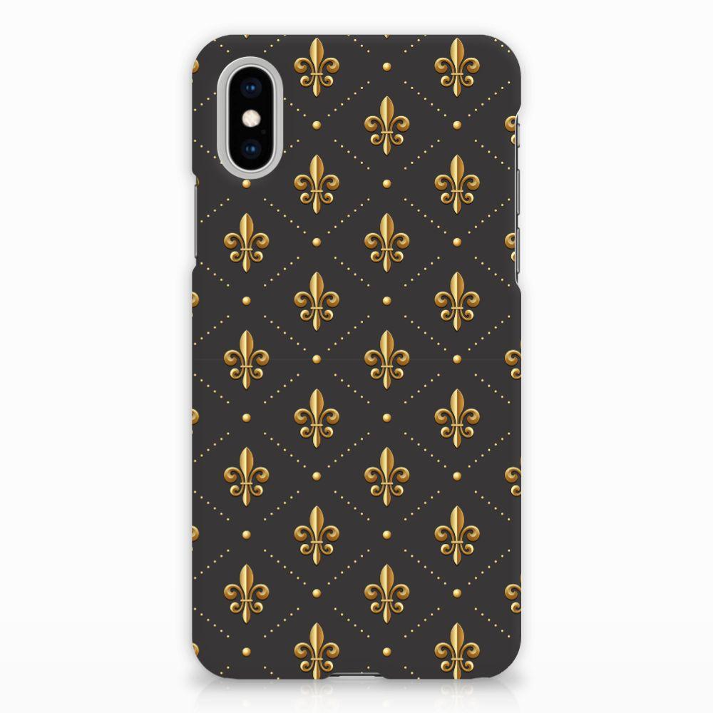 Apple iPhone X | Xs Uniek Hardcase Hoesje Franse Lelie