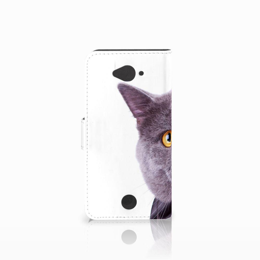 Acer Liquid Z530 | Z530s Telefoonhoesje met Pasjes Kat