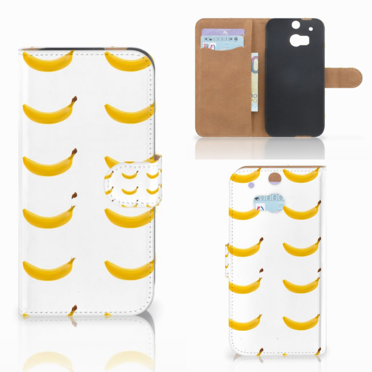 HTC One M8 Book Cover Banana