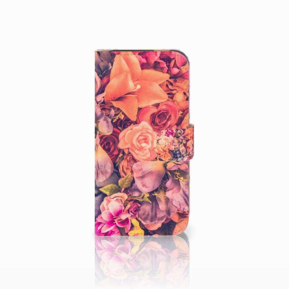 HTC One M8 Boekhoesje Design Bosje Bloemen