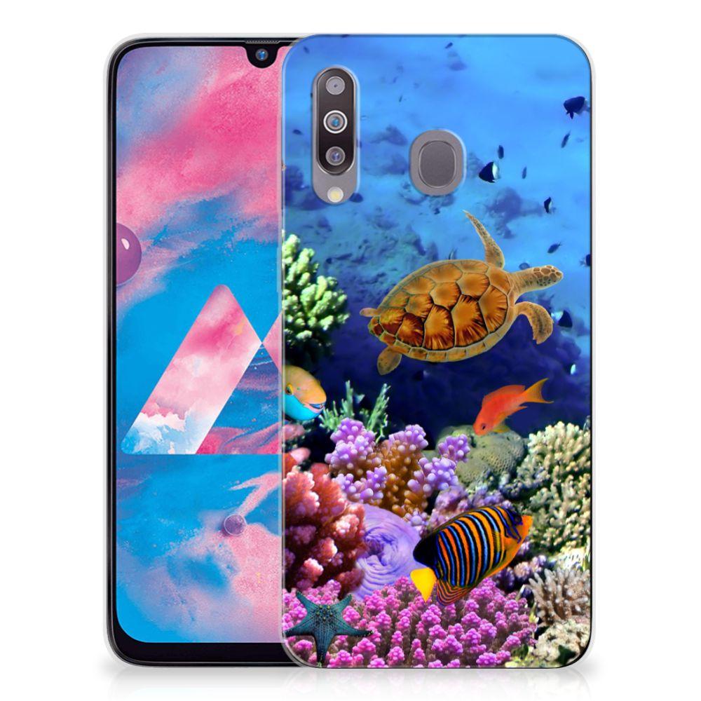 Samsung Galaxy M30 TPU Hoesje Vissen