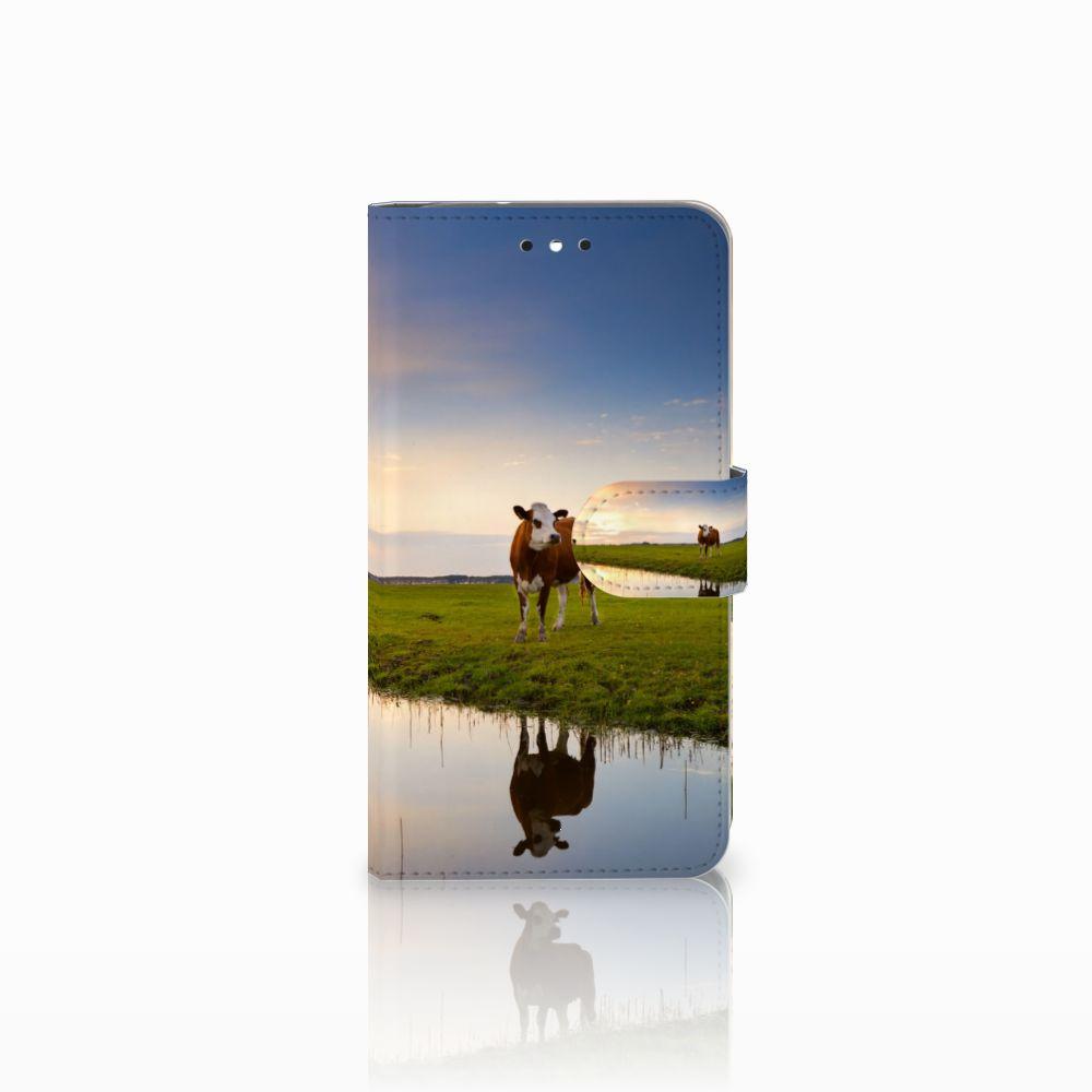 Motorola Moto G4 | G4 Plus Boekhoesje Design Koe