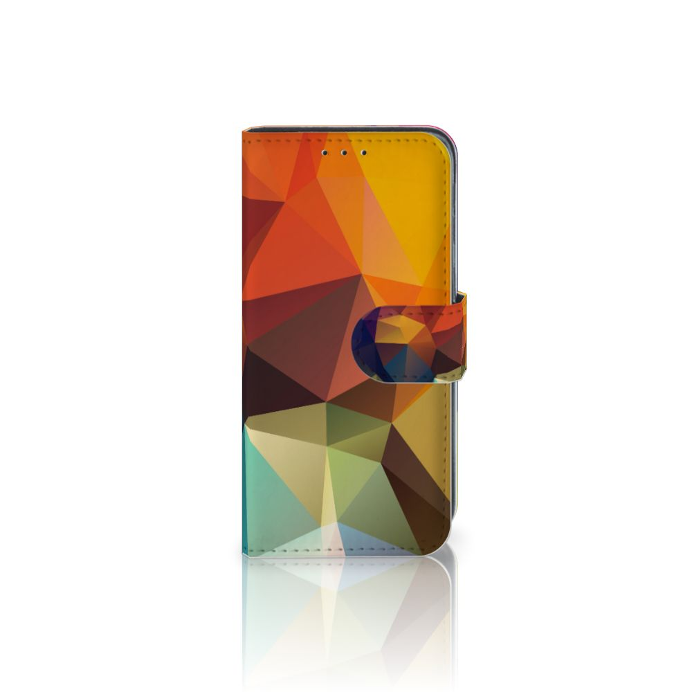 Samsung Galaxy J3 (2018) Boekhoesje Design Polygon Color