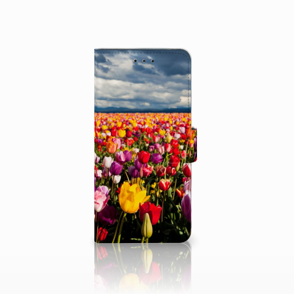Motorola Moto E5 Plus Uniek Boekhoesje Tulpen