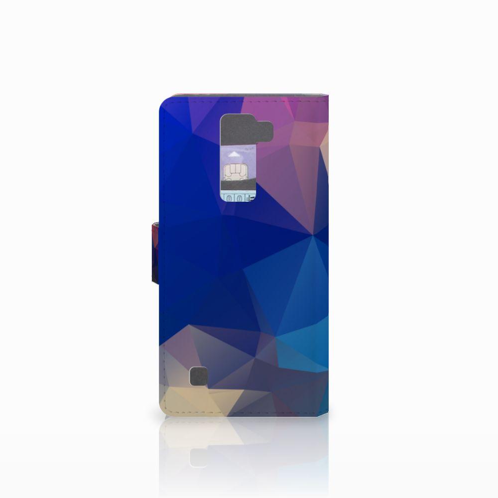 LG K8 Bookcase Polygon Dark