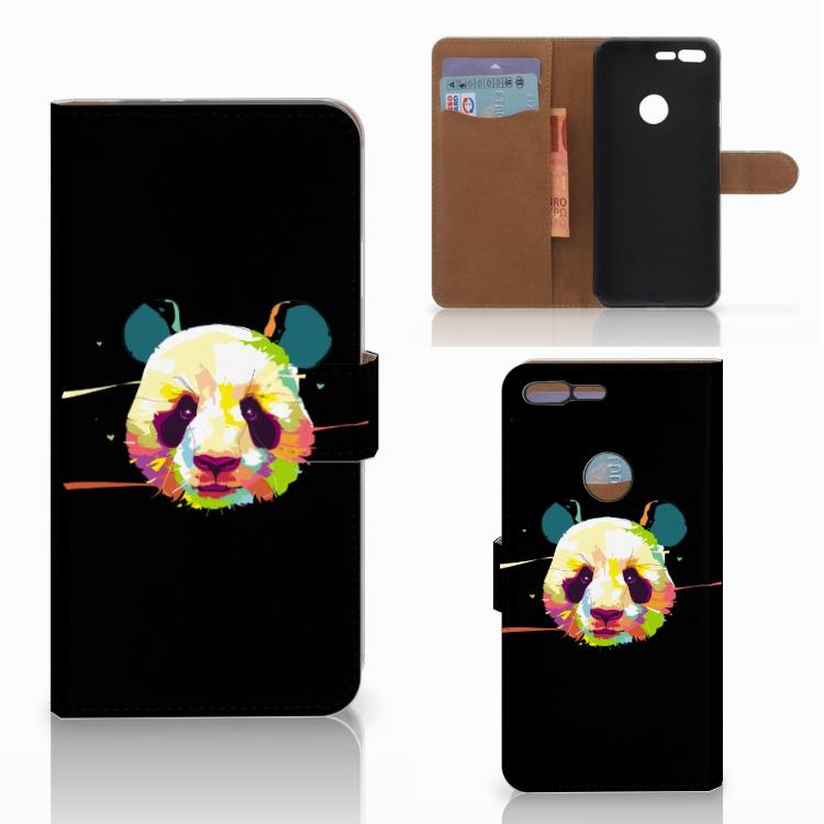 Google Pixel XL Leuke Hoesje Panda Color