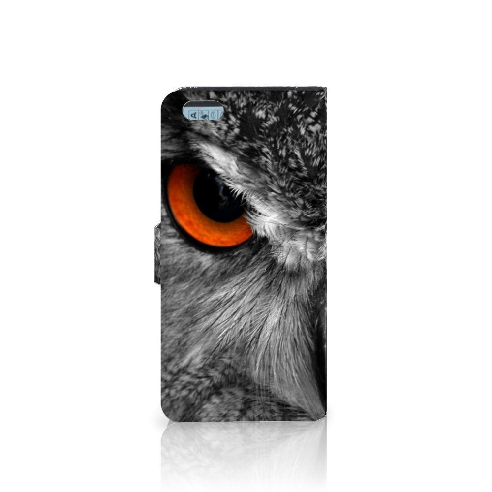 Apple iPhone 6 Plus | 6s Plus Telefoonhoesje met Pasjes Uil