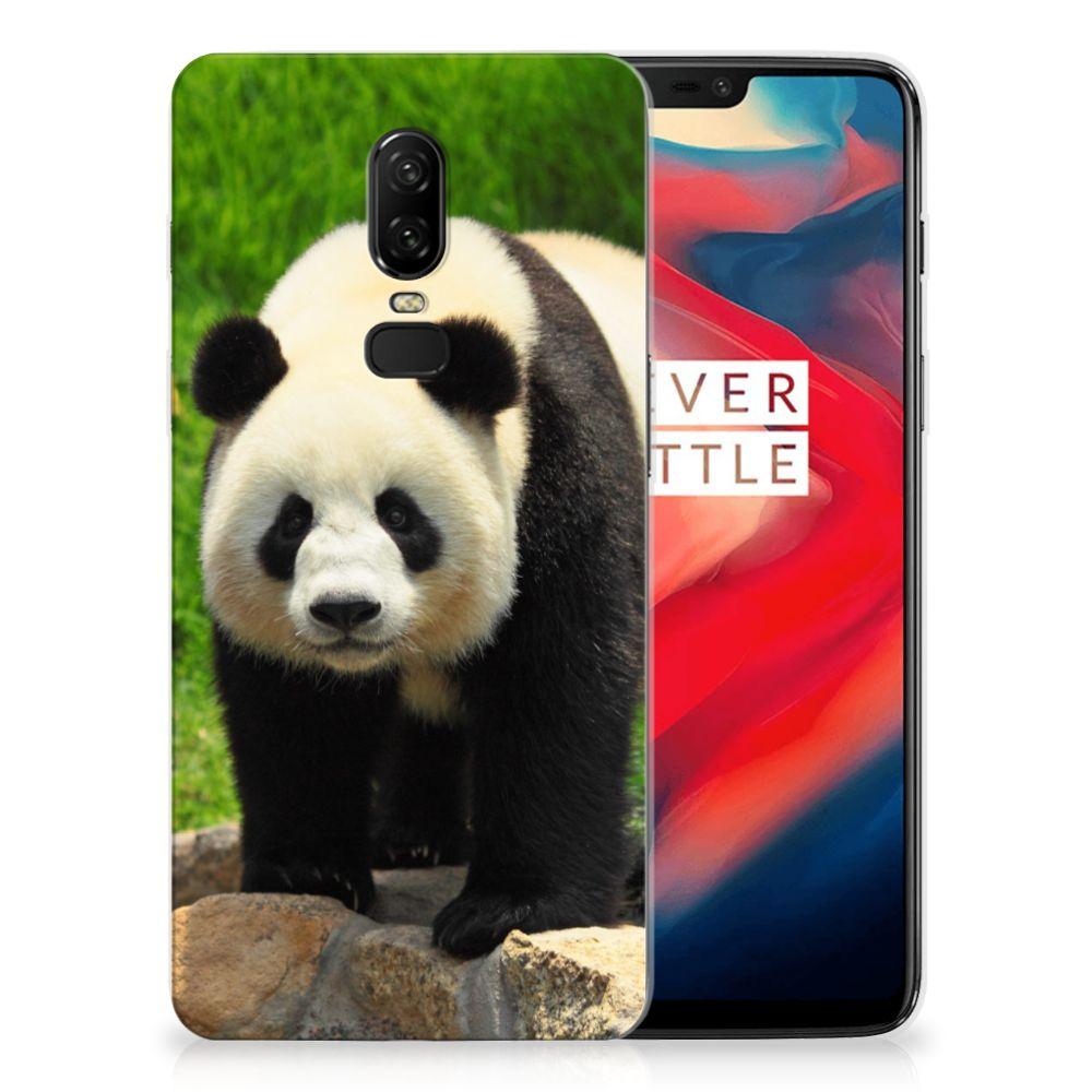 OnePlus 6 TPU Hoesje Panda