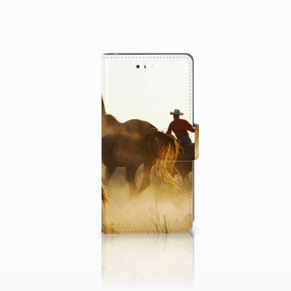 Huawei P10 Boekhoesje Design Cowboy