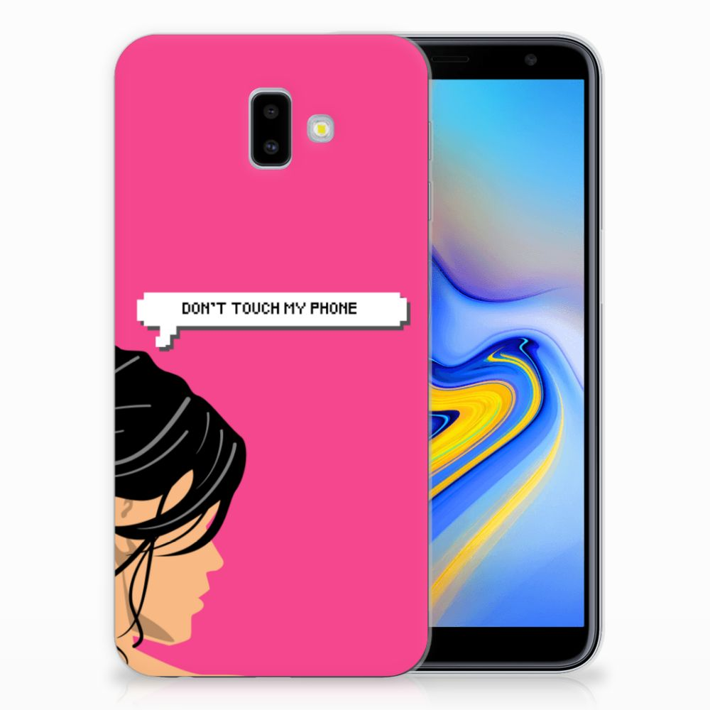 Samsung Galaxy J6 Plus (2018) Silicone-hoesje Woman DTMP