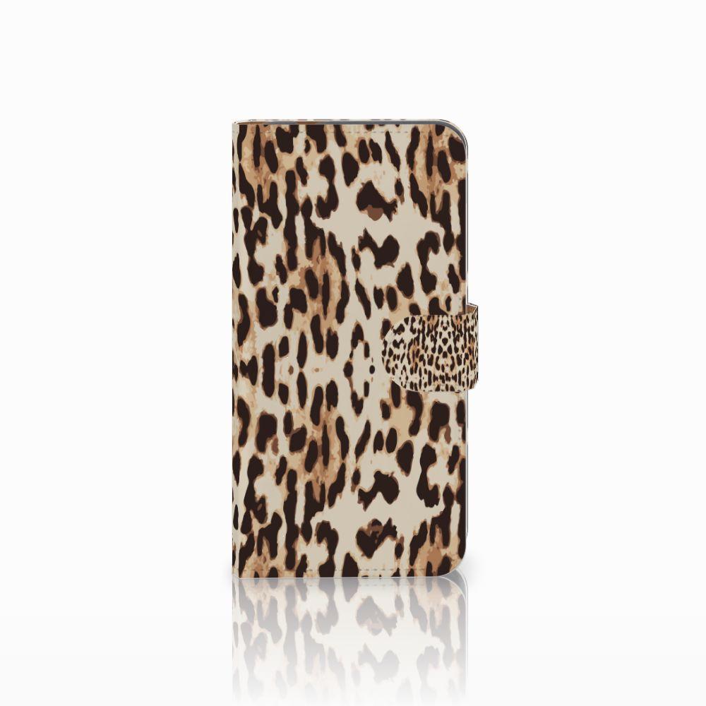 Huawei Nova Plus Uniek Boekhoesje Leopard