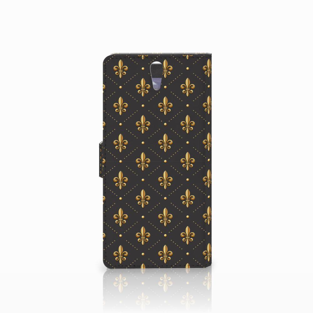 Sony Xperia C5 Ultra Telefoon Hoesje Franse Lelie