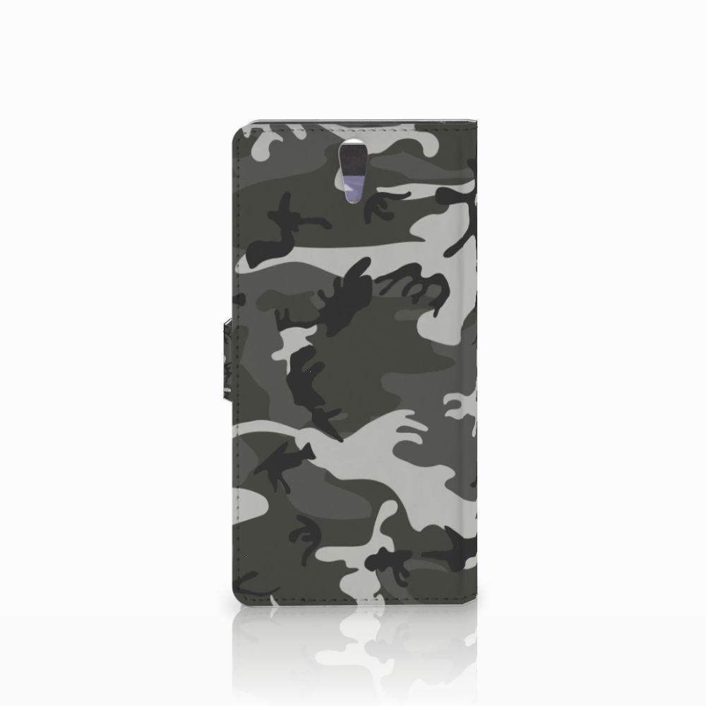 Sony Xperia C5 Ultra Telefoon Hoesje Army Light