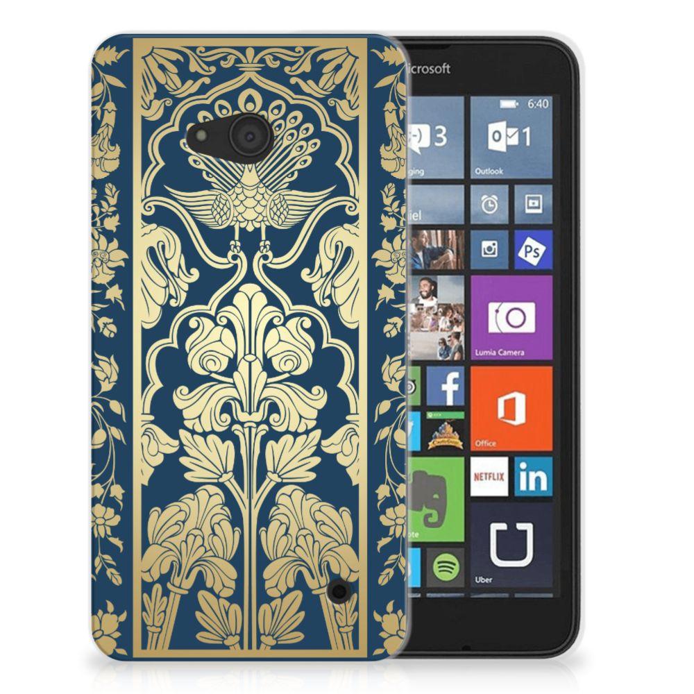 Microsoft Lumia 640 TPU Case Golden Flowers