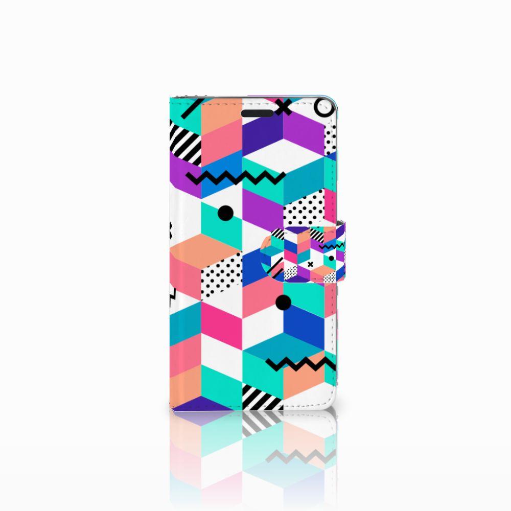 LG G3 Bookcase Blokken Kleurrijk