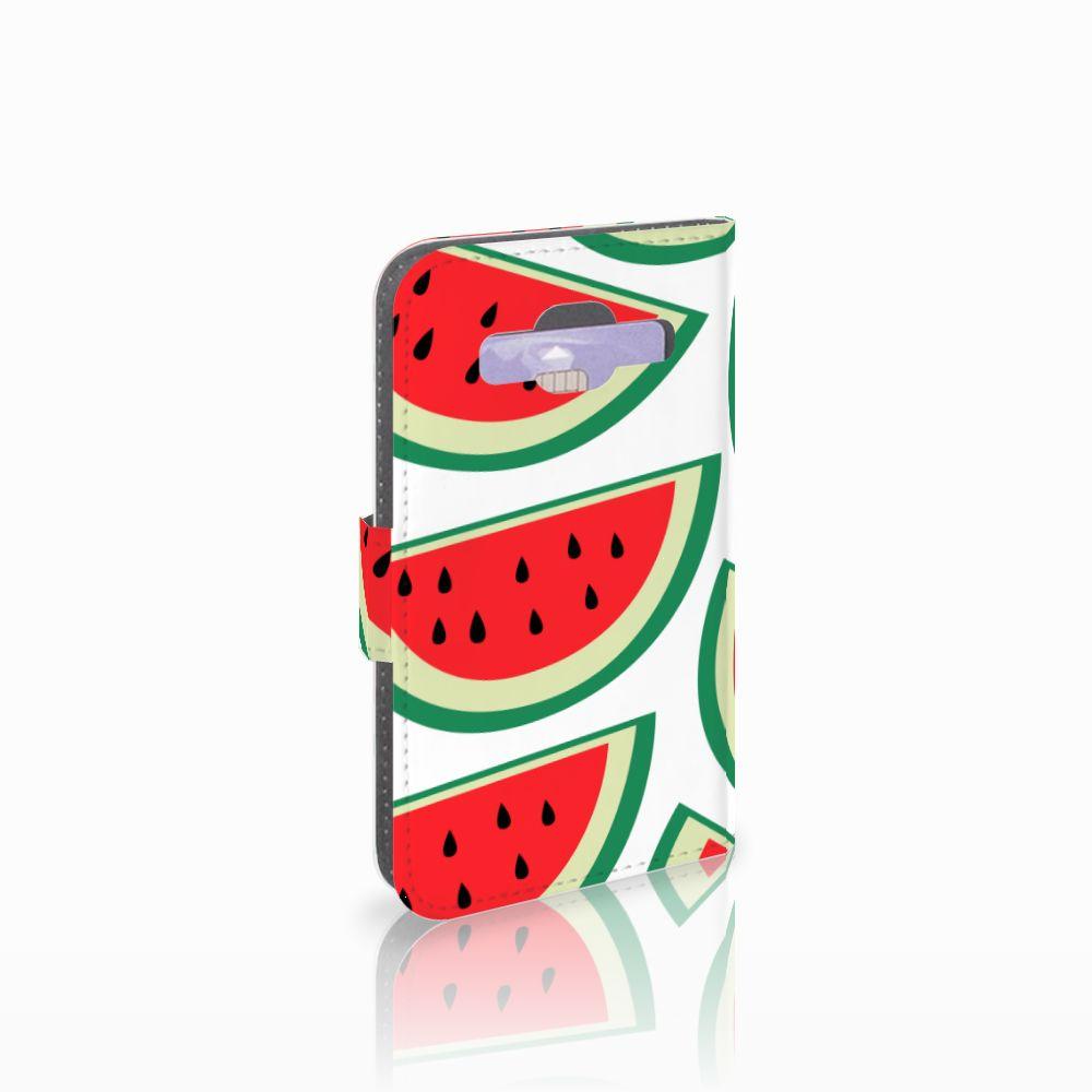 Samsung Galaxy Core Prime Uniek Boekhoesje Watermelons