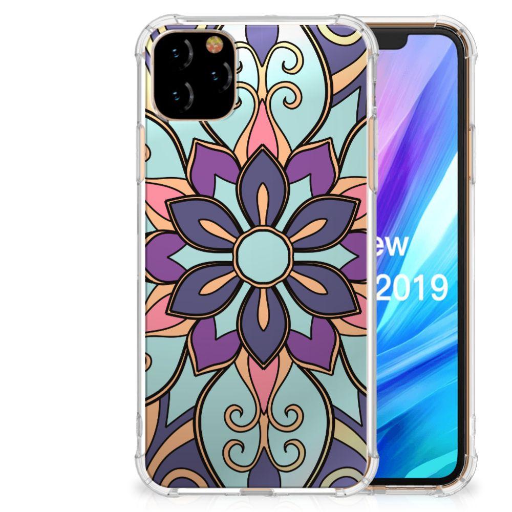Apple iPhone 11 Pro Max Case Purple Flower