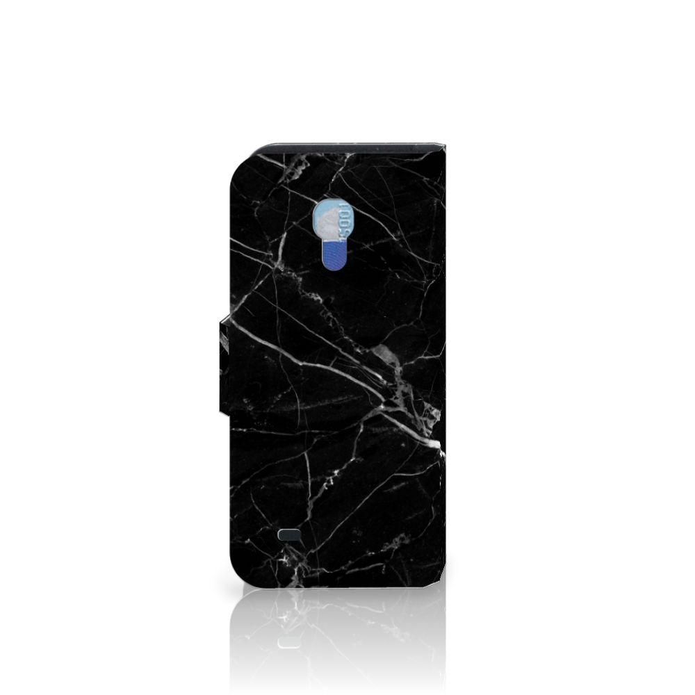 Samsung Galaxy S4 Mini i9190 Bookcase Marmer Zwart