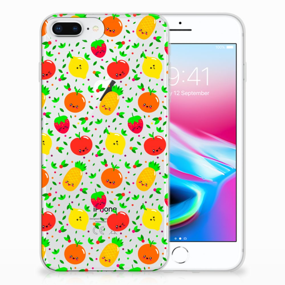 Apple iPhone 7 Plus | 8 Plus TPU Hoesje Design Fruits