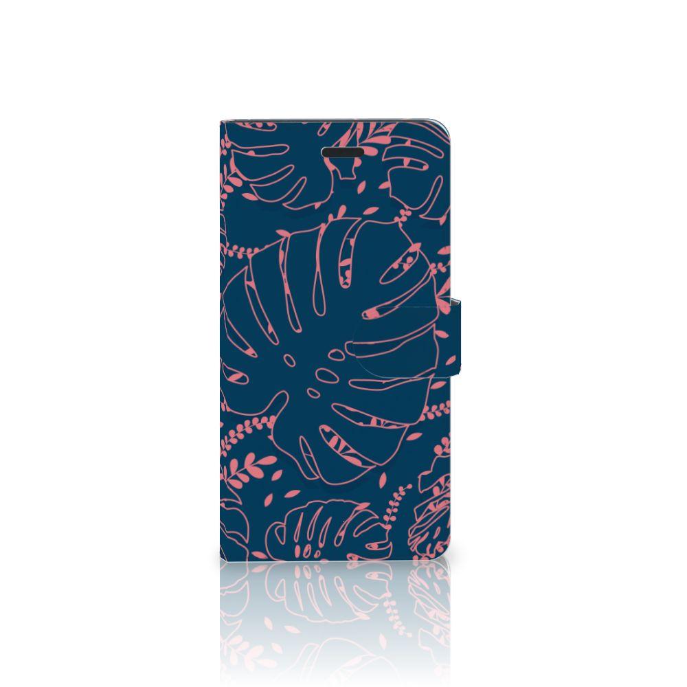 Samsung Galaxy A7 2017 Boekhoesje Design Palm Leaves