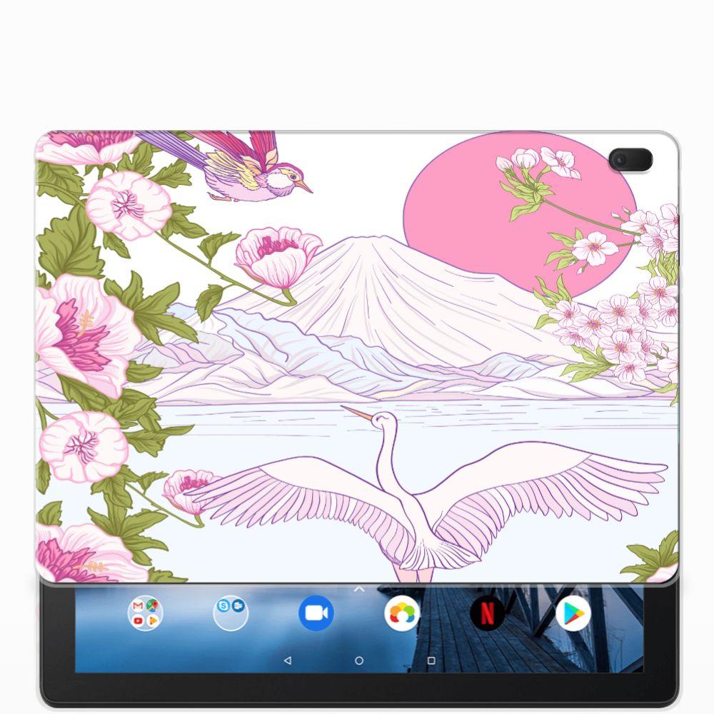 Lenovo Tab E10 Back Case Bird Standing