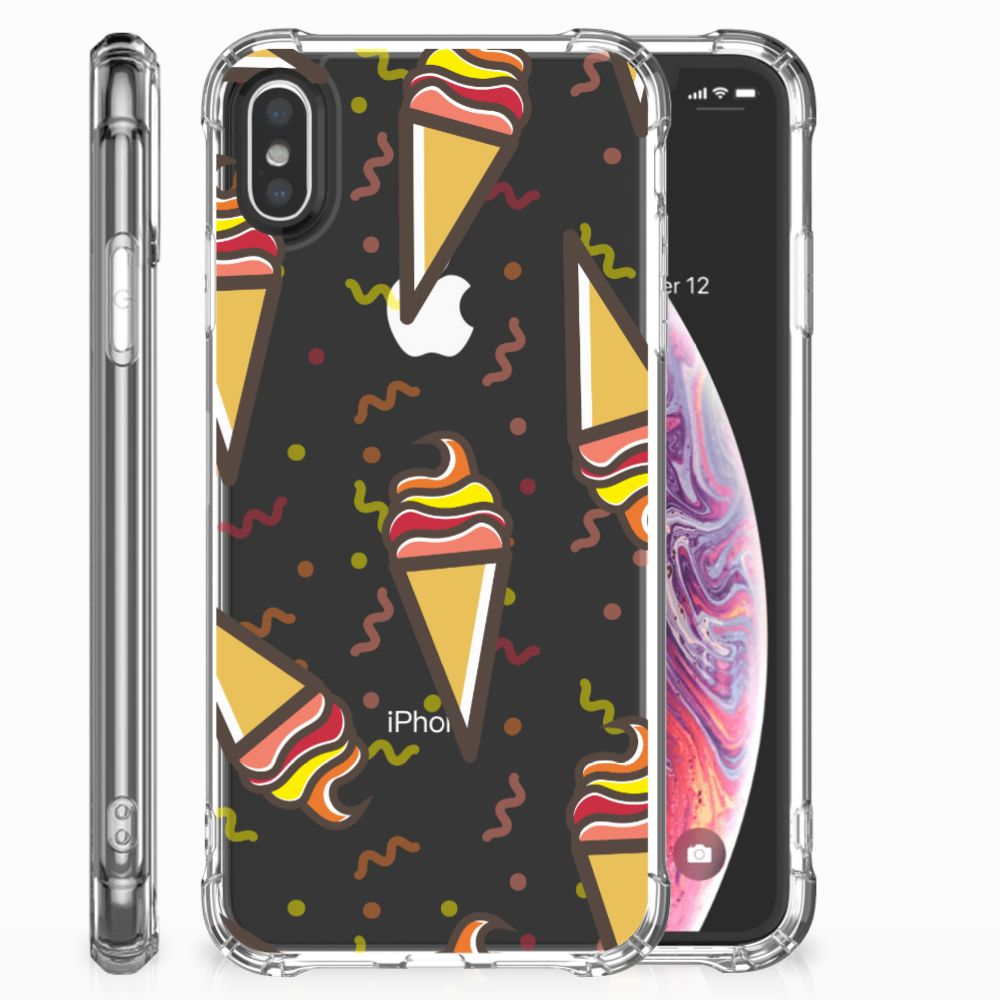 Apple iPhone X | Xs Beschermhoes Icecream