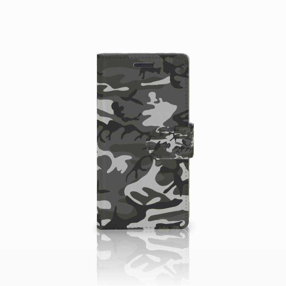 Nokia Lumia 830 Uniek Boekhoesje Army Light