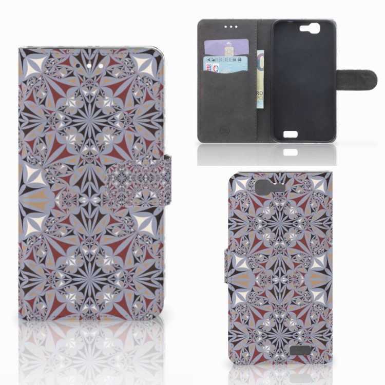 Huawei Ascend G7 Bookcase Flower Tiles