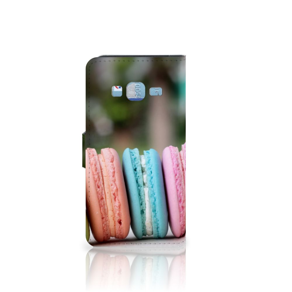 Samsung Galaxy J3 2016 Book Cover Macarons