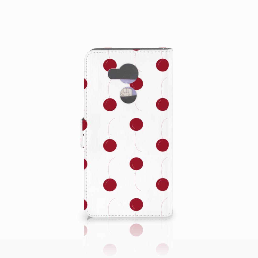 Huawei Mate 8 Book Cover Cherries