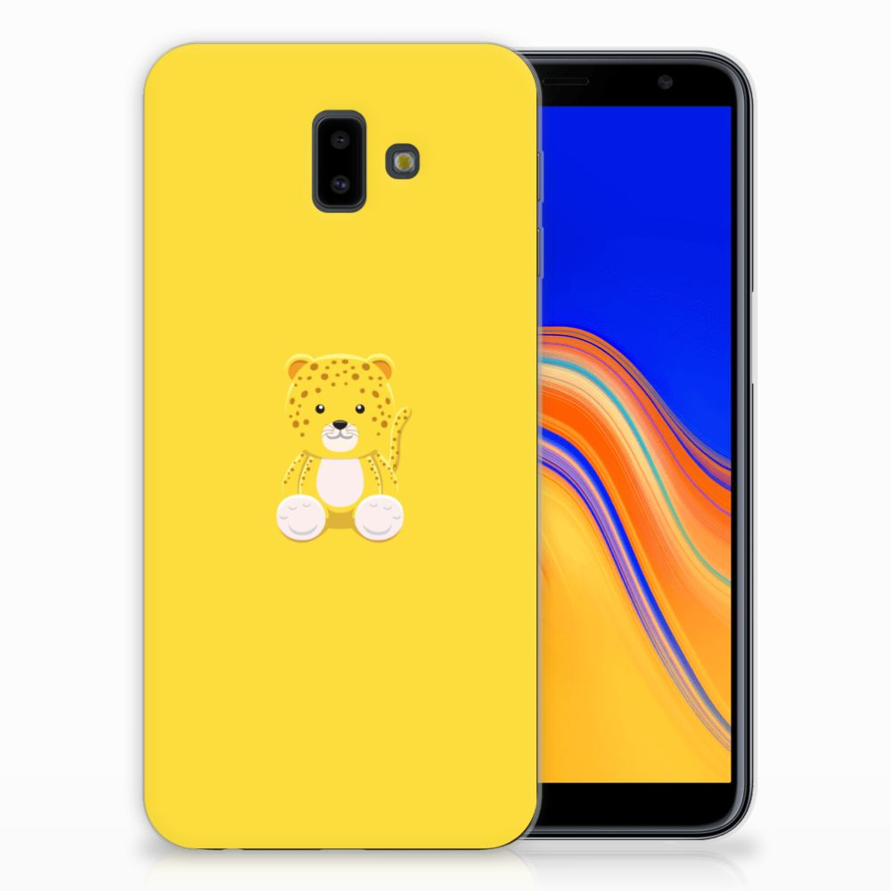 Samsung Galaxy J6 Plus (2018) Telefoonhoesje met Naam Baby Lepperd